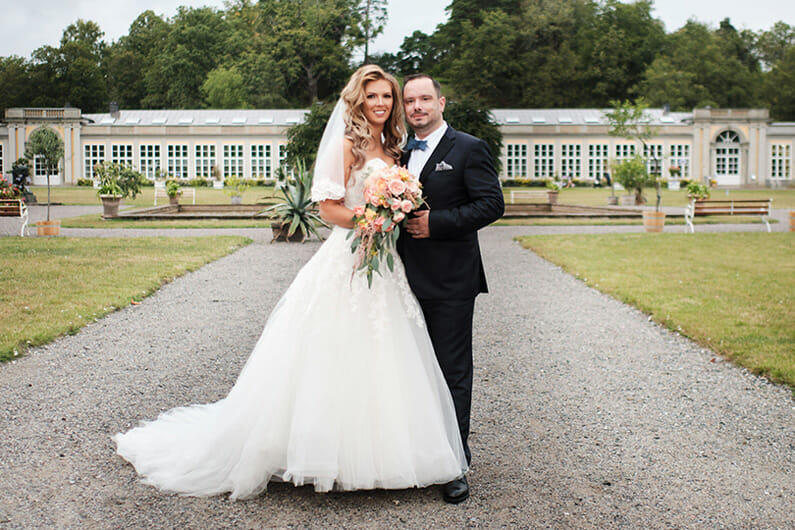 Anja och Alex bröllop i Stockholm 2019
