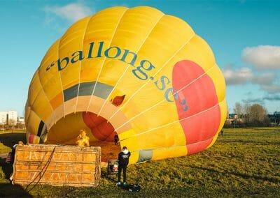 Ballongflyg i Stockholm 2
