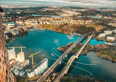 Ballongflyg i Stockholm 4