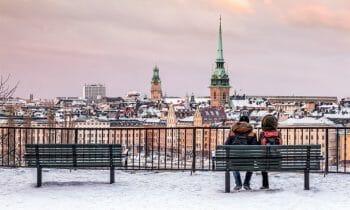 Christmas lunch for Stockholm's homeless 2019