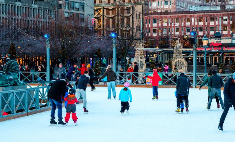 Ice Skating Stockholm