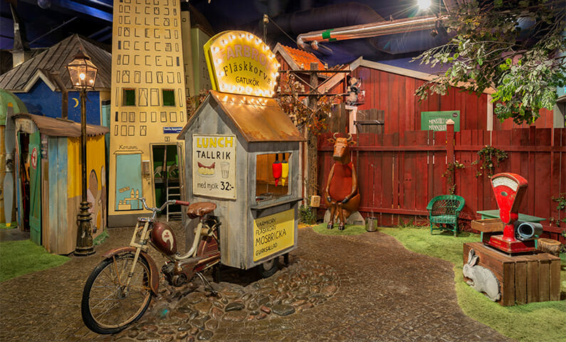 Junibacken - kids museum in Stockholm