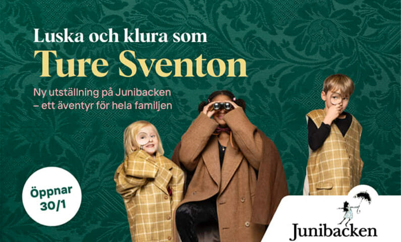Junibacken Ture Sventon