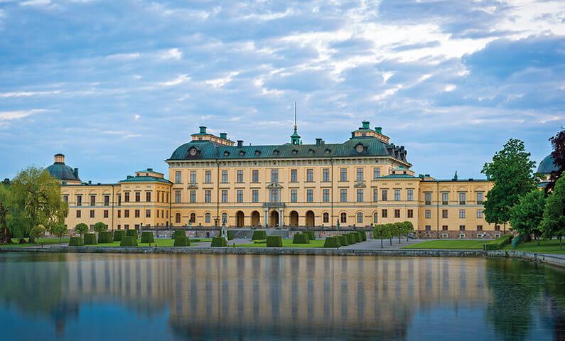 The Royal Palace of Drottningholm in Lovön