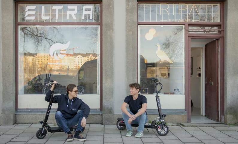 Eltra scooter Stockholm