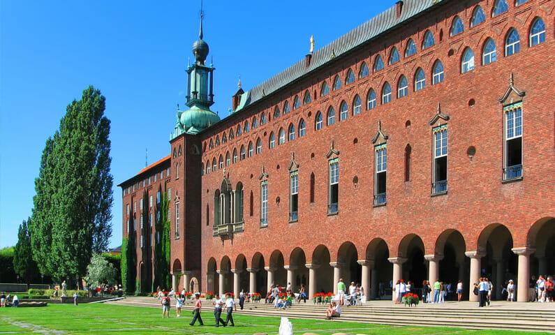The City Hall in Kungsholmen, Stockholm