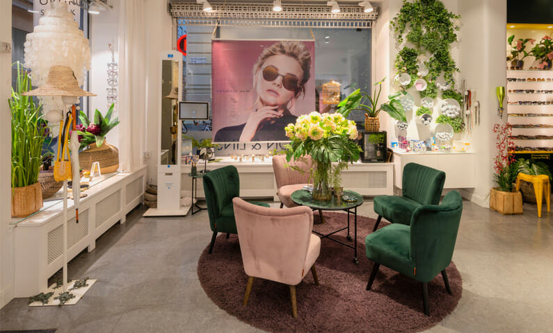 City Optik eyewear Stockholm