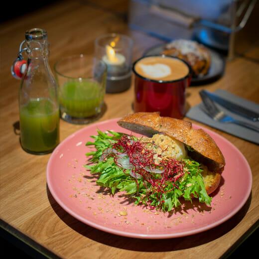 Downtown Camper Café food