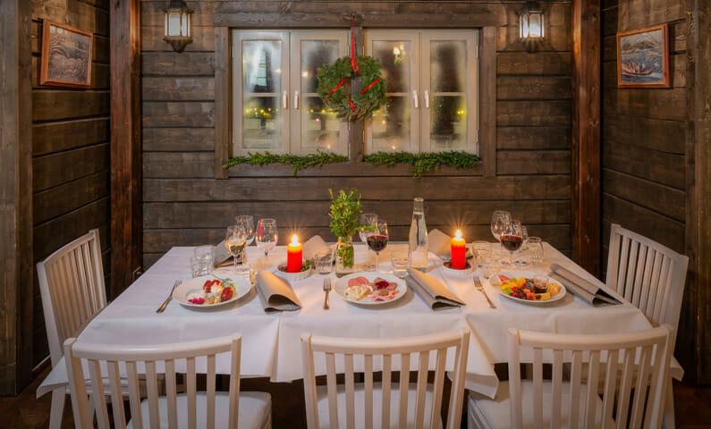 Rökeriet Fjäderholmarna Christmas buffet Stockholm