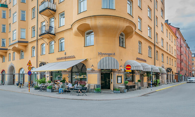 Nytorget, restaurang på Södermalm