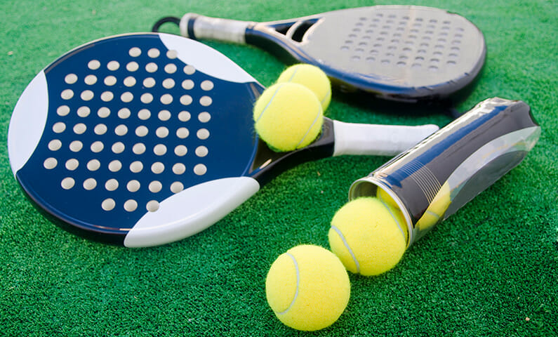 Padel courts in Stockholm