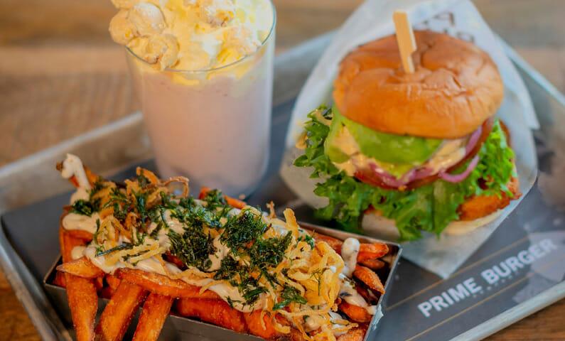 Prime Burger hamburgare