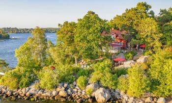 Röda Villan – a classic archipelago oasis on Fjäderholmarna only 20 minutes from Stockholm