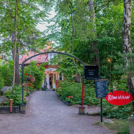 Röda Villan, restaurant & café