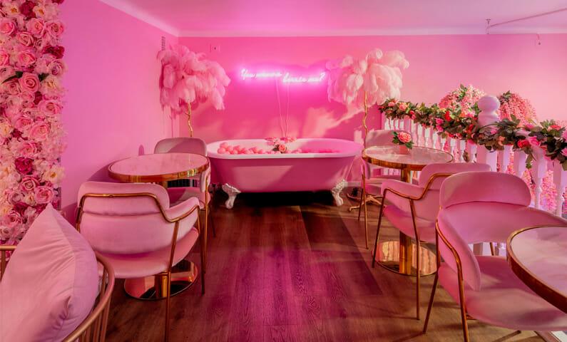 The Pink Company Stockholm café